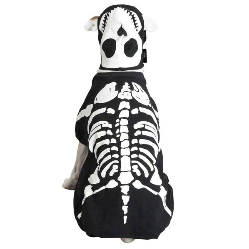 Glowing Skeleton Dog Costume