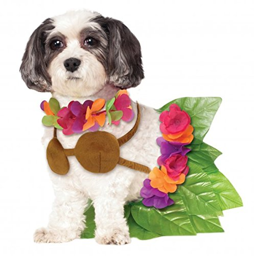 Hula costume for dogs