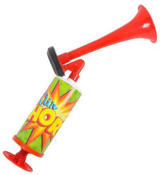 Super Blast Manual Pump Air Horn