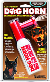 Dog Horn by safety sport; for dog bark control, training and self defence