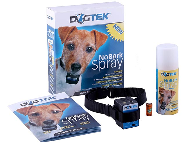 DogTek Anti-barking spray collar for dogs