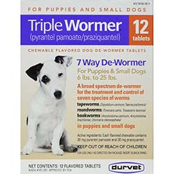 Durvet Small Dog and Puppy Dewormer