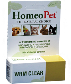 Homeo Pet natural worming
