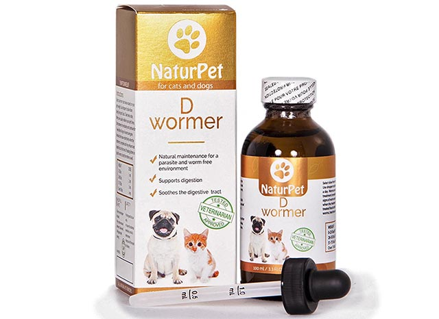 NatuPet natural dewormer for dogs