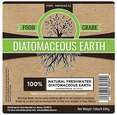 Root Naturally Food Grade Diatomaceous Earth