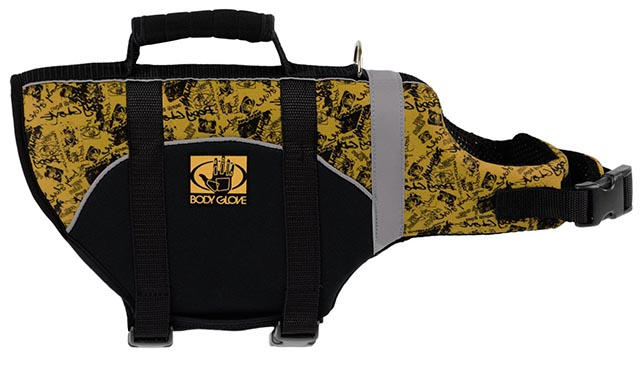 Body Glove canine life jacket