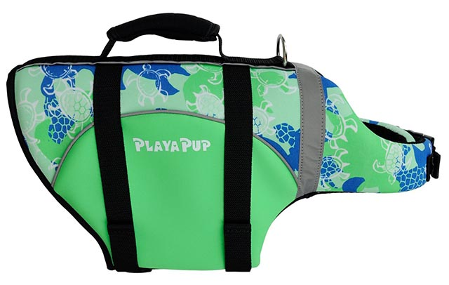 PlayaPup dog flotation jacket