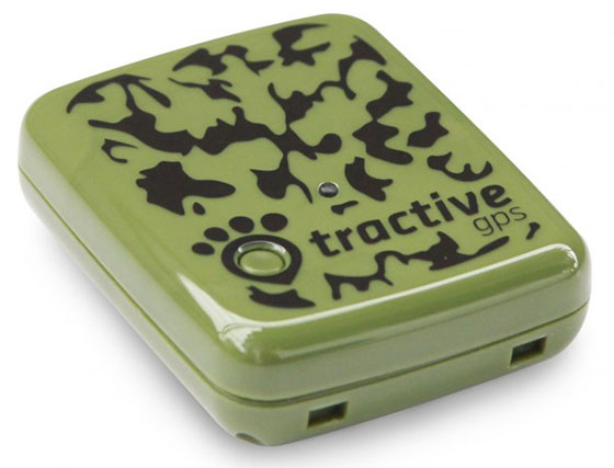 Tractive dog GPS device