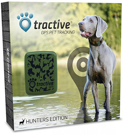 Tractive GPS dog tracking device