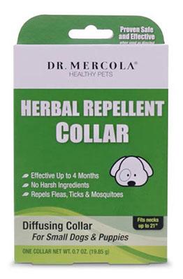dr. mercola herbal flea repellent collar