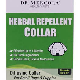 Dr Mercola Herbal Flea Collar for Dogs