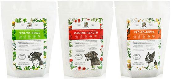 dr harveys dehydrated dog foods